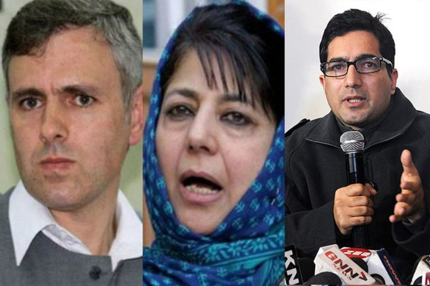 Secular Omar, Musalmaan Mehbooba, Shah Faseal's Crowd Funding And NC's Mission 45 Dream