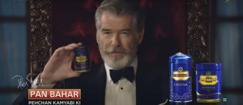 The Ad That Jolted Pierce Brosnan's Fans In India Out Of Morning Slumber