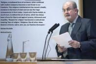 I stand with Charlie Hebdo: Salman Rushdie