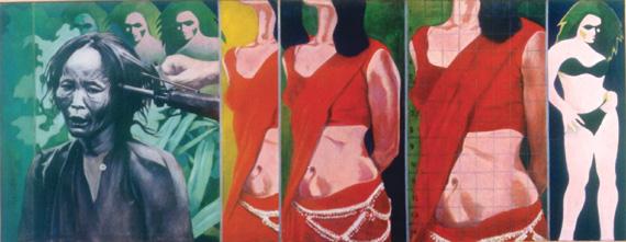 "Ijaz ul Hassan's ""Rifle Butt"", 1974"