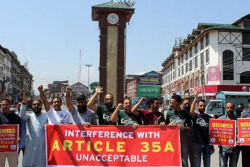 Article 35A: An Unprecedented Situation In Kashmir
