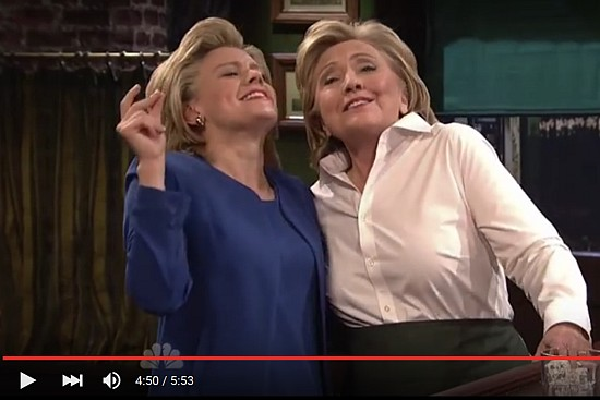 Video: Hillary Clinton on Saturday Night Live