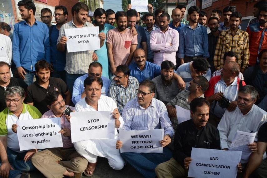Daily Curator: Emergency For Media In Kashmir