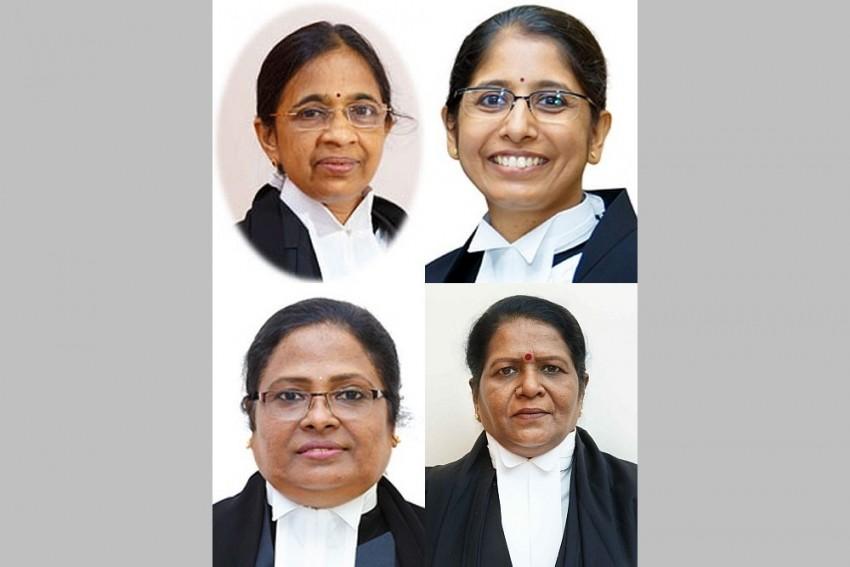 Kerala Judiciary Creates History With Four Women Judges