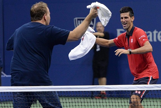 Djokovic Goes 'Gangnam Style'