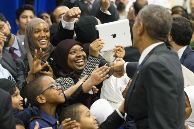 You Fit Right Here: Obama Tells Muslims-Americans At Baltimore Mosque