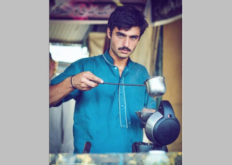 This 'Chaiwala' From Pakistan First Broke The Internet; Now He Has A Modelling Contract
