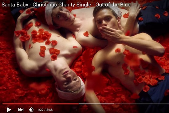 Watch The Oxford Boys Spread Some Christmas Cheer!