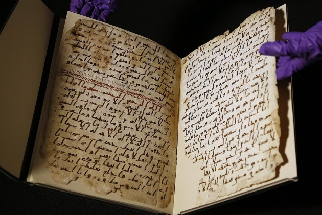 World's 'Oldest' Quran Fragments Found In Birmingham Library