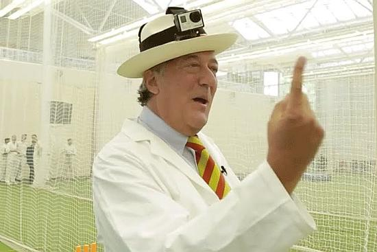 Move Over Hawk-Eye! Stephen Fry Is Here
