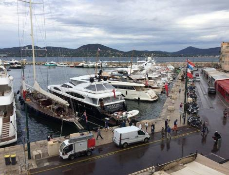 The small fishing port of St Tropez is one of the jewels of the French Riveria.