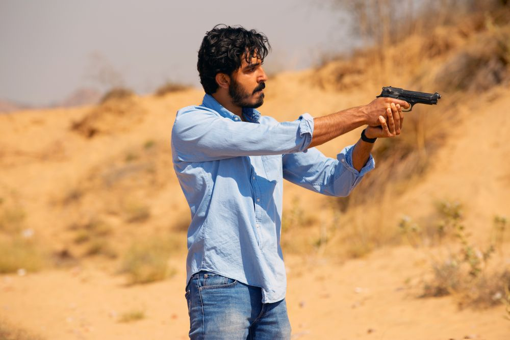 Dev Patel plays a mysterious character in the film, The Wedding Guest, which had its world premiere at the Toronto International Film Festival