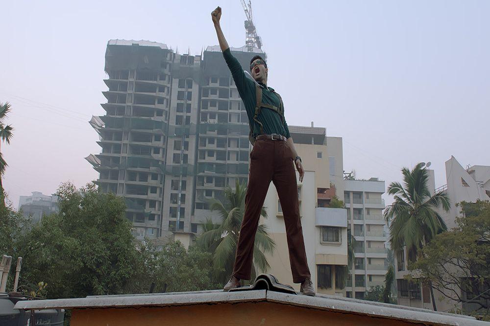 Abhimanyu Dassani plays Surya in director Vasan Bala's Mard Ko Dard Nahin Hota, which had its world premiere at the Toronto International Film Festival.