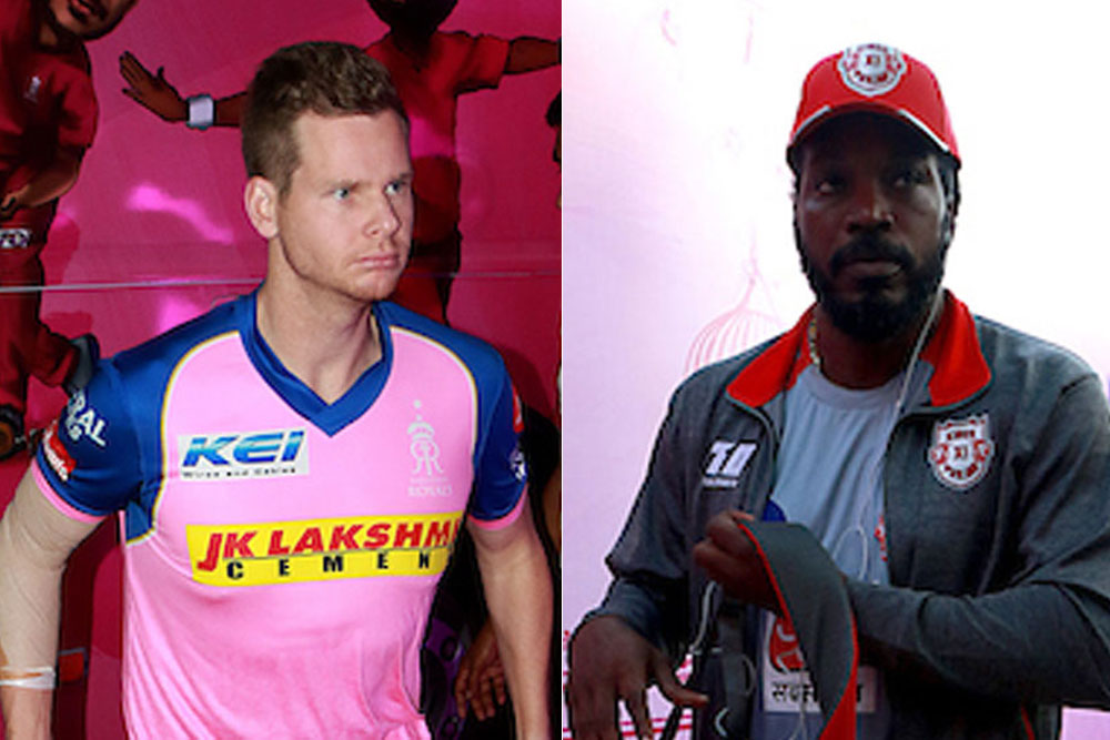Steve Smith and Chris Gayle, two of the biggest stars in action today