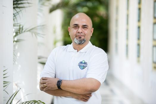 Starpick CEO Trigam Mukherjee