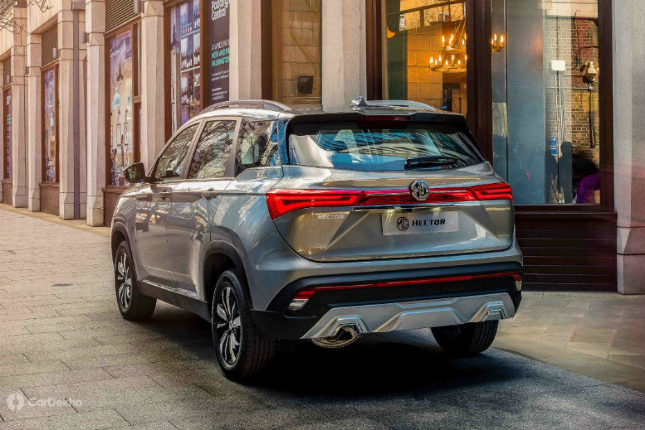 MG Hector Unveiled Ahead Of Launch