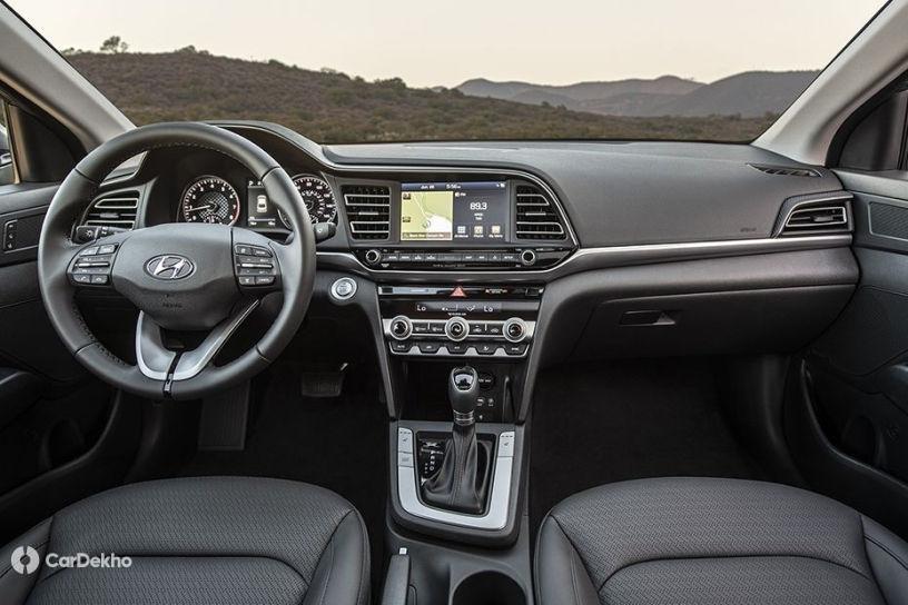 Hyundai Elantra Facelift Variants And Colour Options Revealed