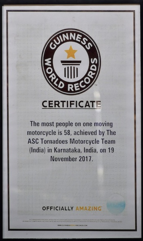 ASC Tornadoes' Guinness World Record
