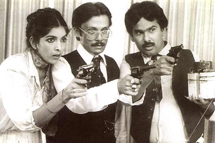 Still from the film 'Jaane Bhi Do Yaaro'