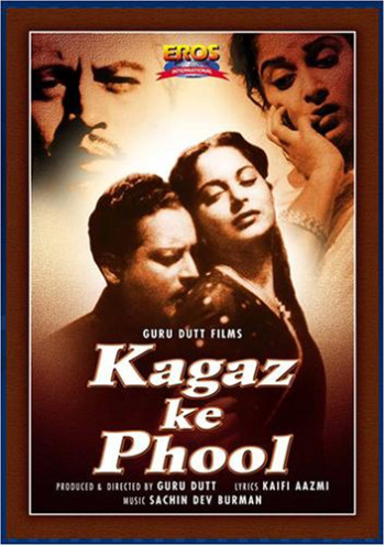 Poster of the film 'Kaagaz Ke Phool'