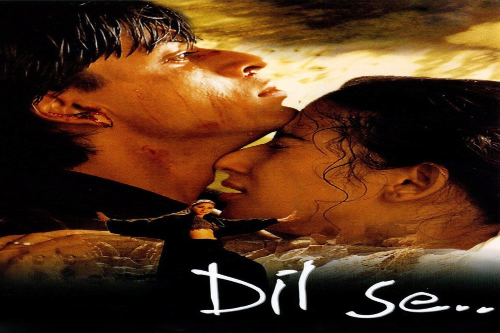 Poster of the film 'Dil Se'