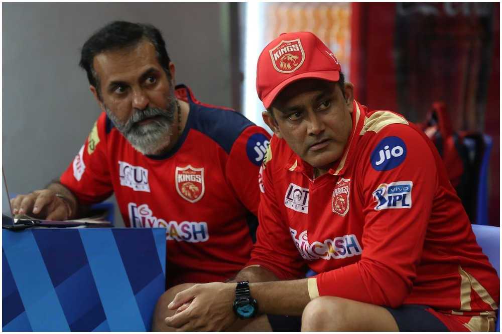 Punjab Kings head coach Anil Kumble has not been able to address his team's suicidal tendencies. (Photo: BCCI-IPL)