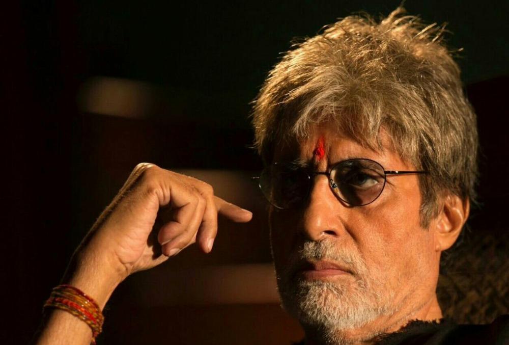 Actor Amitabh Bachchan in Sarkar 3
