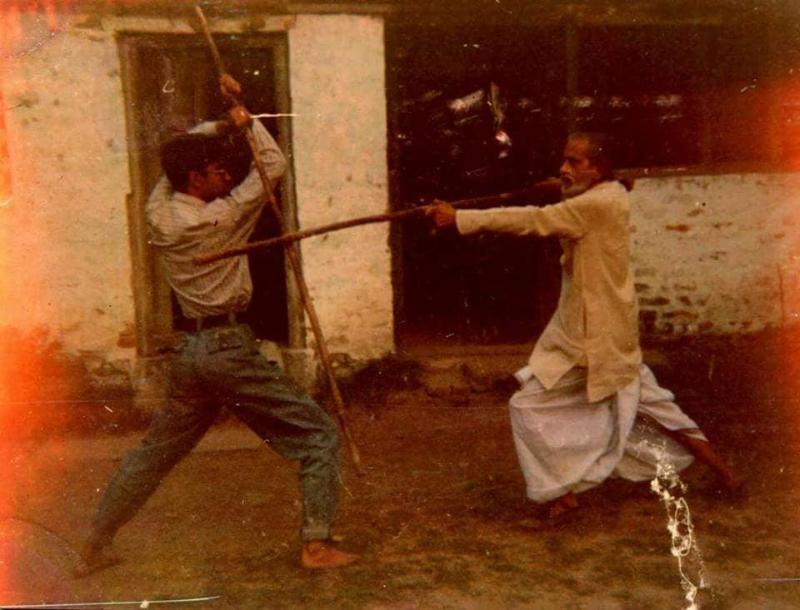 Lathi Khela - courtesey Facebook, Bangiya Byayam Samiti