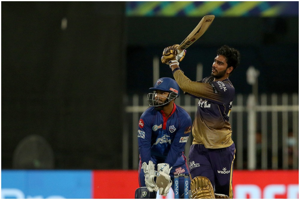 Venkatesh Iyer's fifty laid the foundation for KKR as the former champions escaped to victory in Sharjah on Wednesday. (Photo: BCCI-IPL)