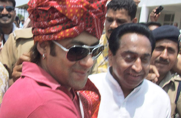 सलमान खान, लोकसभा २०१९, काँग्रेस, मध्य प्रदेश, मुख्यमंत्री कमलनाथ, Salman khan, Salman khan to contest loksabha, kamalnath, Mp