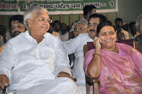 Forget 'Jungle Raj', BJP Likens Lalu-Rabri Reign In Bihar To Afghanistan Now
