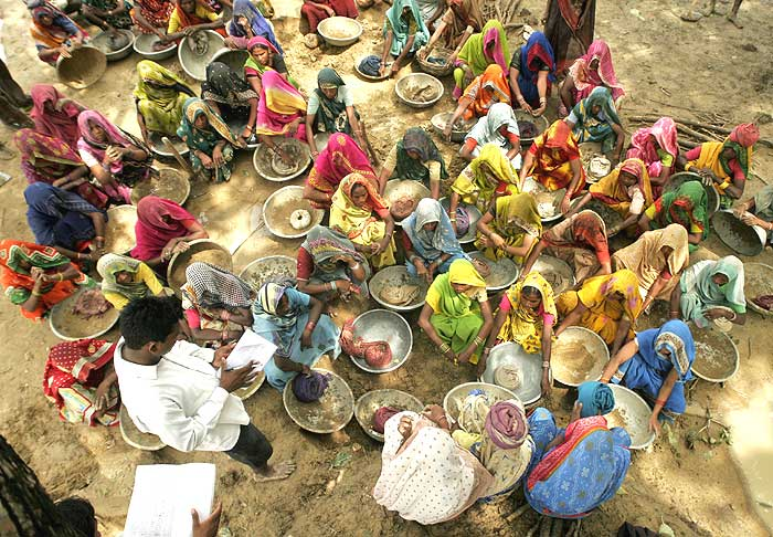 'The New Government Is Not Committed To The NREGA'