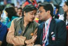 <b>Just a few weeks back</b> Tharoor was seen with Lalit Modi at an IPL match at Ferozeshah Kotla