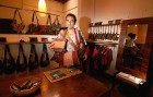 <b>Moshe Inbar</b><br> A master leather worker, his unique handbags are collector's items