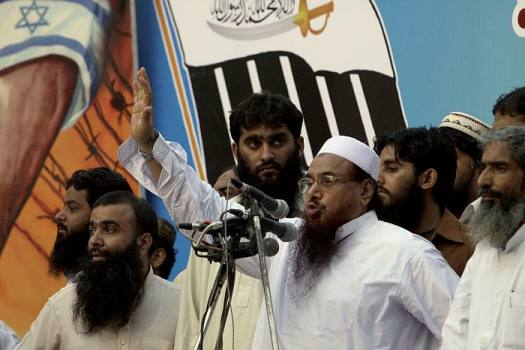 Hafiz Saeed was out on the streets of Lahore, rubbing shoulders with Pakistan's other