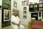 <b>His say</b> Somnath Chatterjee at his residence in Bolpur, West Bengal