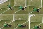 A photo sequence of Lampard's disallowed goal against Germany