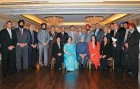 <b>Khalsa Raj</b> Manmohan Singh with Sikh MPs and state legislators of Canada