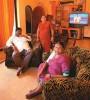 <b>No abode adobe</b> The Katkaris in their bungalow in Agroli village