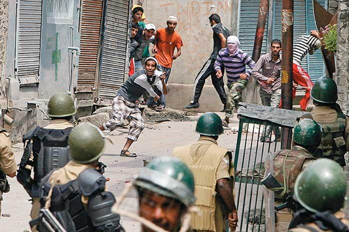 Kashmir, Looking In