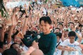 <b>Nov 14</b> A tumultous welcome for Suu Kyi at NLD headquarters in Yangon