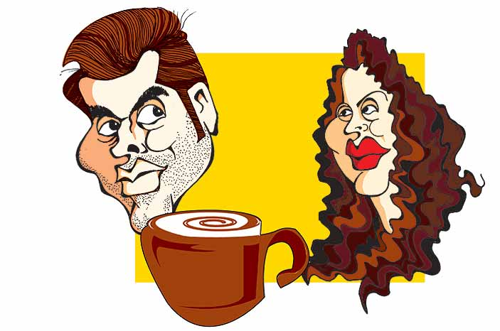 KJo's Secret Koffee With Niira Radia