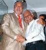 <b>Kingfisher Meets Jet</b> Vijay Mallya with Naresh Goyal