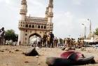 <b>Agent orange</b> Mecca masjid blast site, Hyderabad, 2007