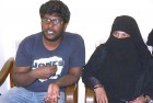 <b>Wronged, righted</b> Kaleem and his mother at their Hyderabad home, after his release