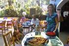 <b>Yogini Rammacher</b>, Villa Blanche <br>  Famous for her Sunday brunch, cakes