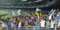 <b>Spectator & sport</b> Crowded stands at an IPL match in Mumbai