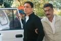 <b>DB realities</b> Shahid Balwa being escorted to CBI HQ on February 9