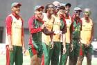 <b>Religion? No, life itself</b> Kenyan players during practice at the Chidambaram stadium, Chennai