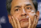 <b>Hand in glove?</B> The tainted Rajat Gupta